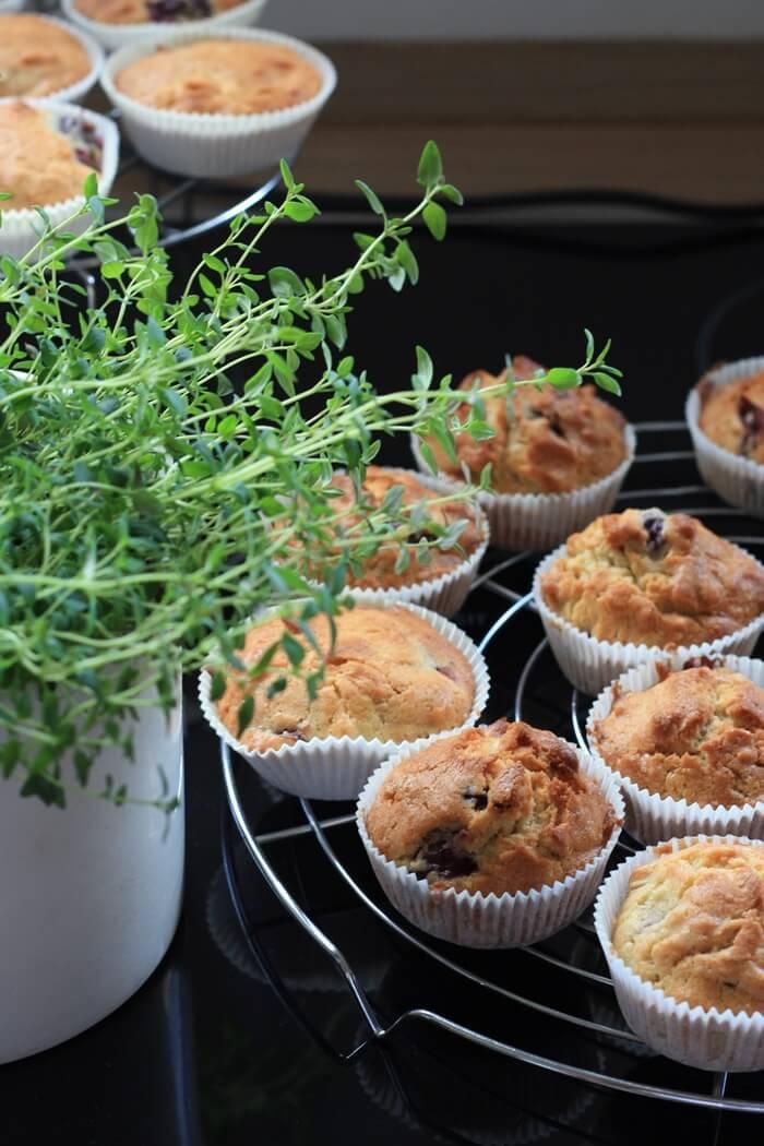 Kirschmuffins mit Mandeln Genuss-mit-fernweh.de