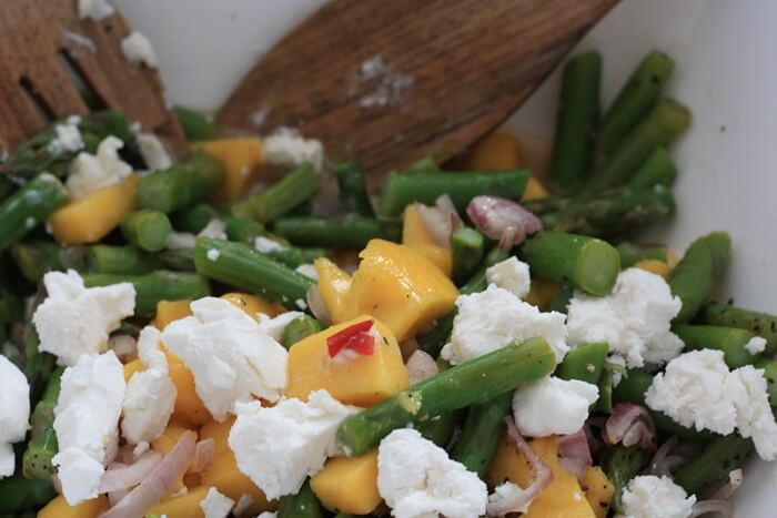 Spargel-Mango-Salat Genuss-mit-fernweh.de Europa Rezepte