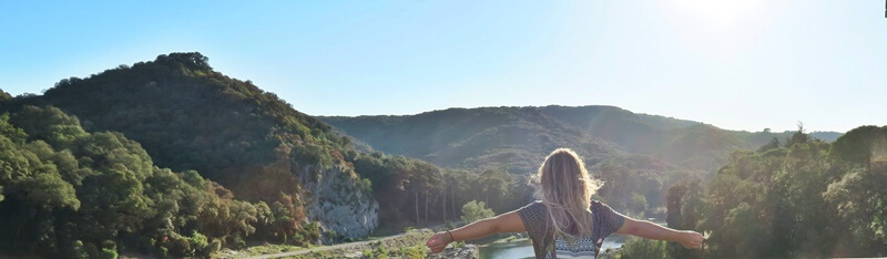 Daniela Reh Travelblogger Frankreich Provence Pont Du Gard