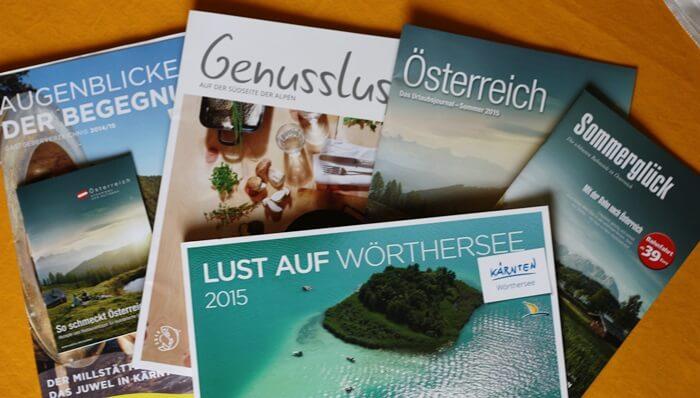 Kataloge Österreich Auslandssemester  Klagenfurt Genuss-mit-fernweh.de