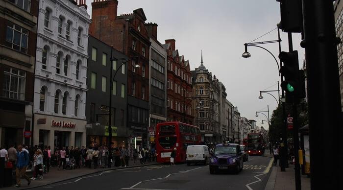 Großbritannien London Oxford Street Genuss-mit-fernweh.de