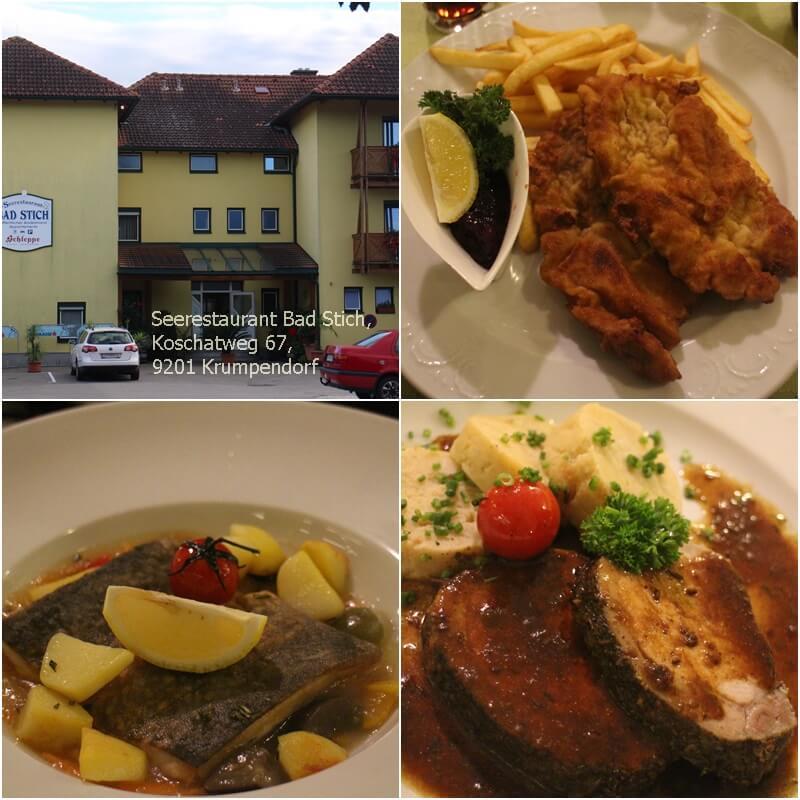 Krumpendorf Restaurant Bad Stich Genuss-mit-fernweh.de