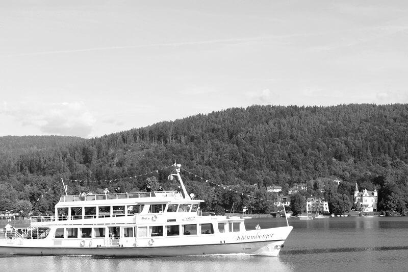 Wörthersee Wörtherseeschifffahrt Genuss-mit-fernweh.de Auslandssemester Woche