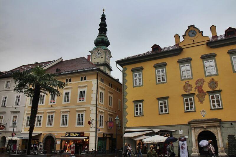 Must See Spots Klagenfurt Genuss-mit-fernweh.de Daniela Reh Altes Rathaus Alter Platz