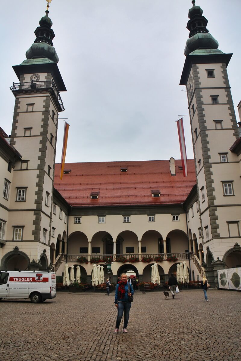 Must See Spots Klagenfurt Genuss-mit-fernweh.de Daniela Reh Landhaus mit Wappensaal