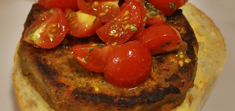 veggie-burger genuss-mit-fernweh.de Veganer Burger Daniela Reh
