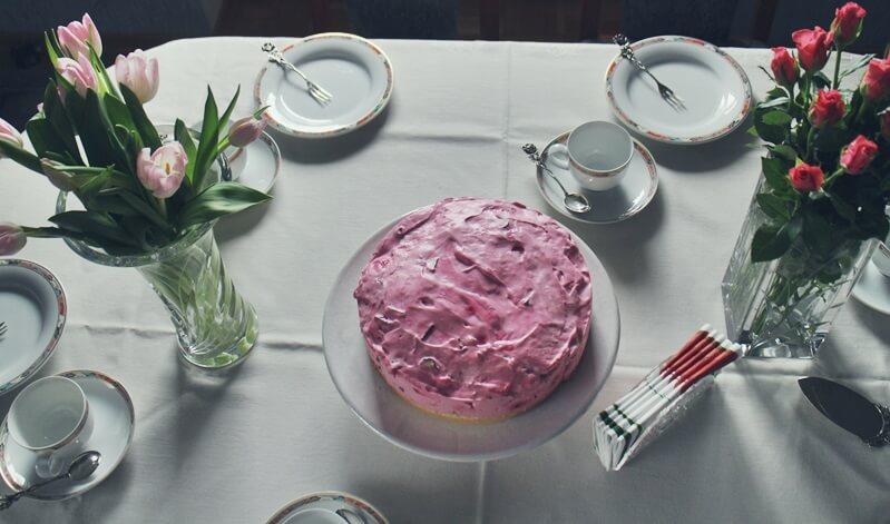 Maitorte mit Yogurette Genuss-mit-fernweh.de Daniela Reh Yogurette Torte