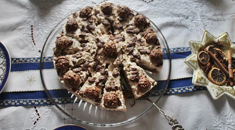 Ferrero Rocher-Torte Genuss-mit-fernweh.de Torte Schokoladentorte mit Nuss