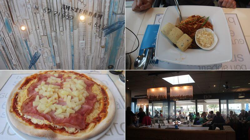Stavoren Urlaub am Ijsselmer Genuss-mit-fernweh.de Friesland Entspannungsurlaub Niederlande Pizzeria am Hafen