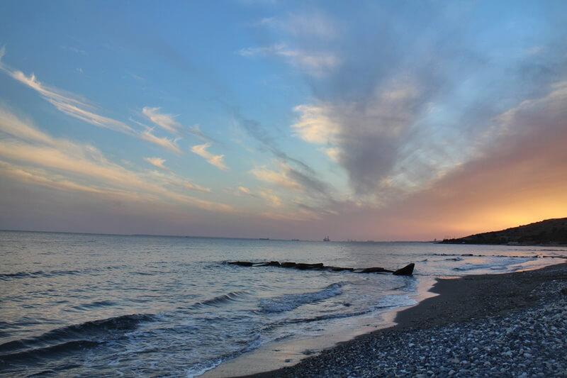 atlantica bay hotel zypern limassol Promenade Strand