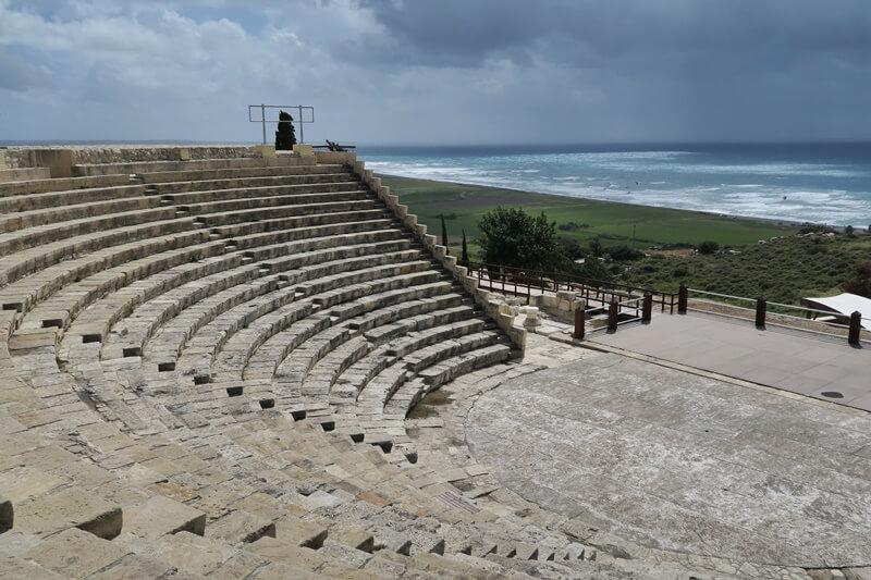 Limassol Genuss-mit-fernweh.de Reisebericht Zypern Kourion Ausgrabungen Mittelmeerküste Küste Zypern