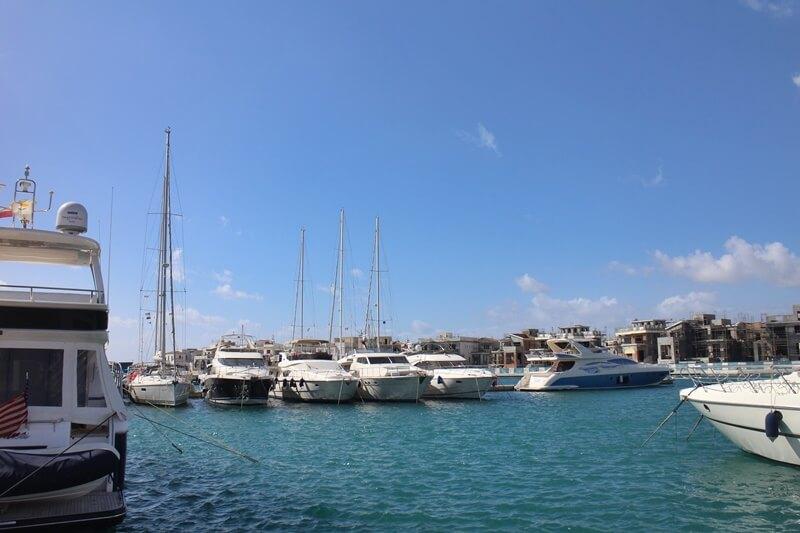 Limassol Genuss-mit-fernweh.de Reisebericht Zypern Hafen Yachten Yachthafen Cyprus