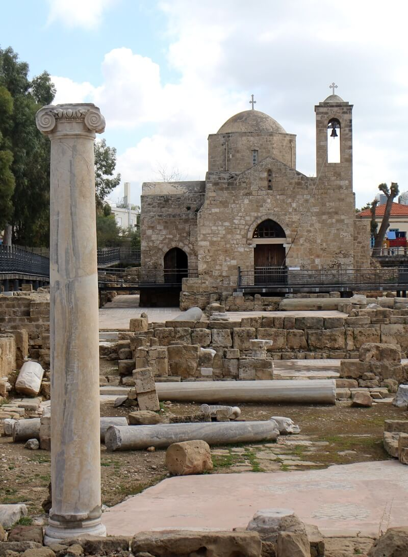 Paphos Zypern Travelguide Mittelmeer Genuss-mit-fernweh.de Chrysopolitissa Kirche