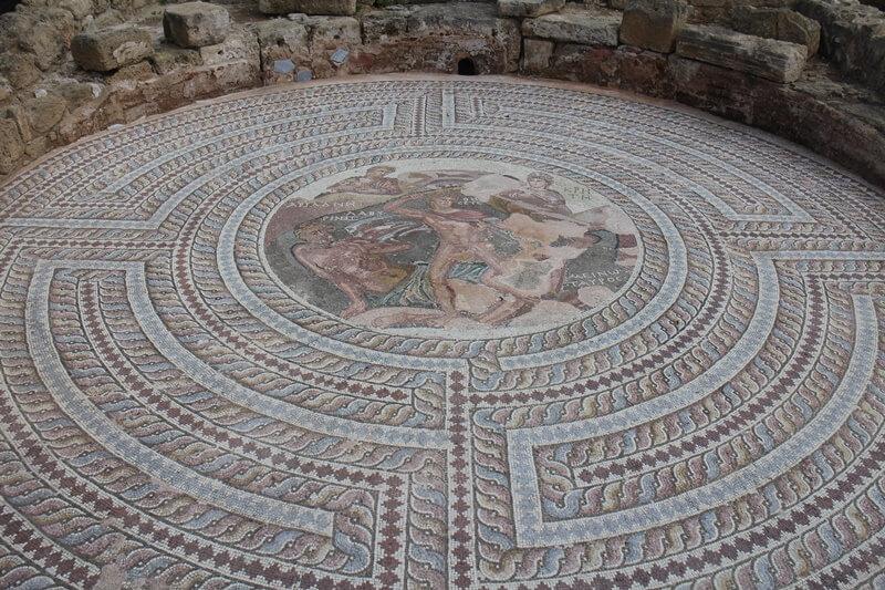 Paphos Zypern Travelguide Mittelmeer Genuss-mit-fernweh.de Archäologischer Park Paphos Archaeological parc Mosaike