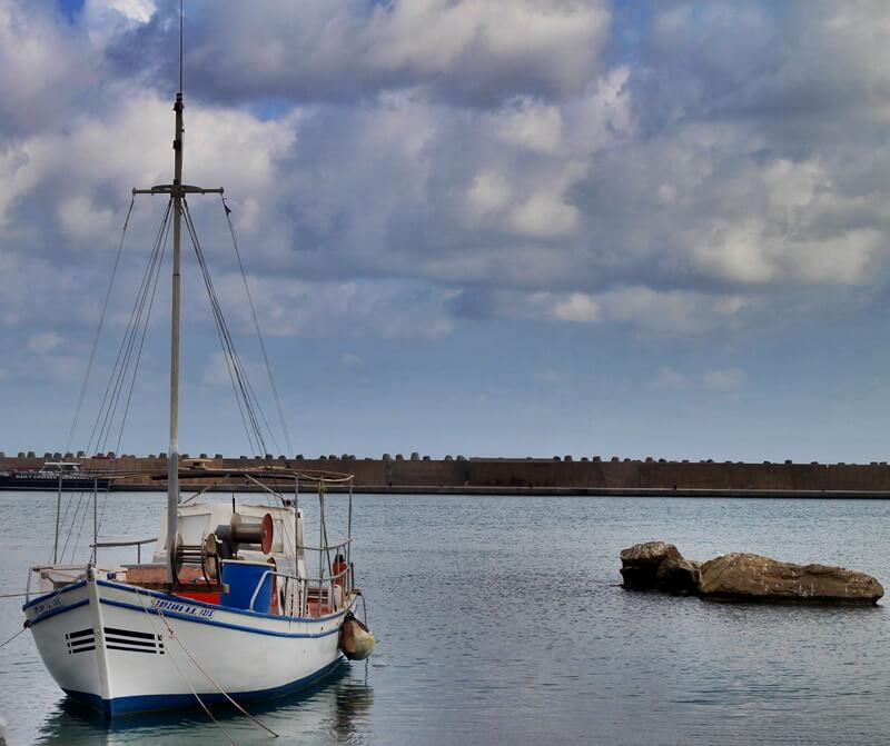 Sissi Beach - Stalis Malia Reiseblog Hafen Malia
