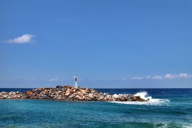 Sissi Beach - Stalis Malia Reiseblog Hafen Sissi Beach