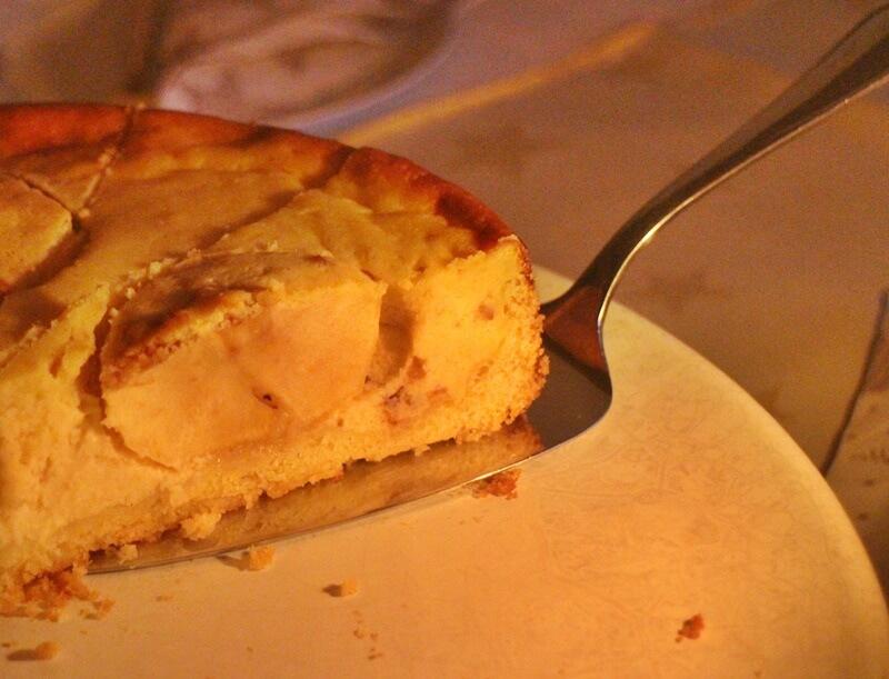 Bratapfel-Käsekuchen Rezept Foodblog Genuss-mit-fernweh.de