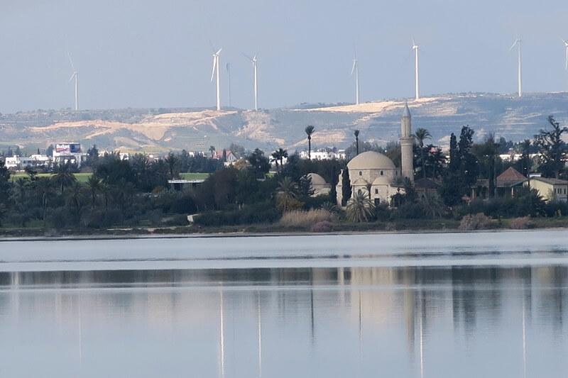 Larnaka und Nikosia, Moschee Hala Sultan Tekke am Salzsee von Larnaka Reisebericht Reiseblog Genuss-mit-fernweh.de