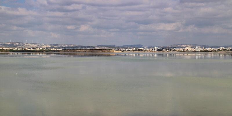 Salzsee von Larnaka, Larnaka und Nikosia, Reisebericht Reiseblog Genuss-mit-fernweh.de