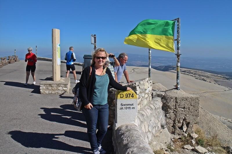 Mont Ventoux Tour de France Reiseblog Genuss-mit-fernweh.de windig