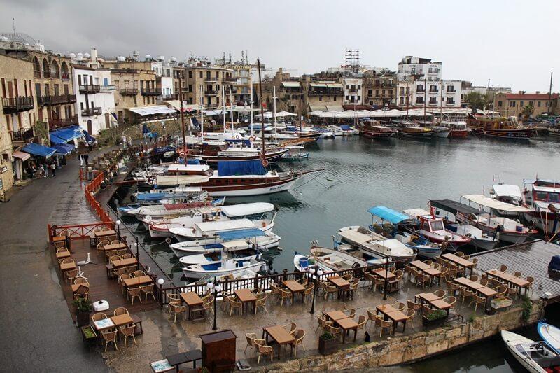 Kyrenia Girne Nordzypern Hafenstadt Zypern Reisebericht Reiseblog Genuss-mit-fernweh.de Hafen