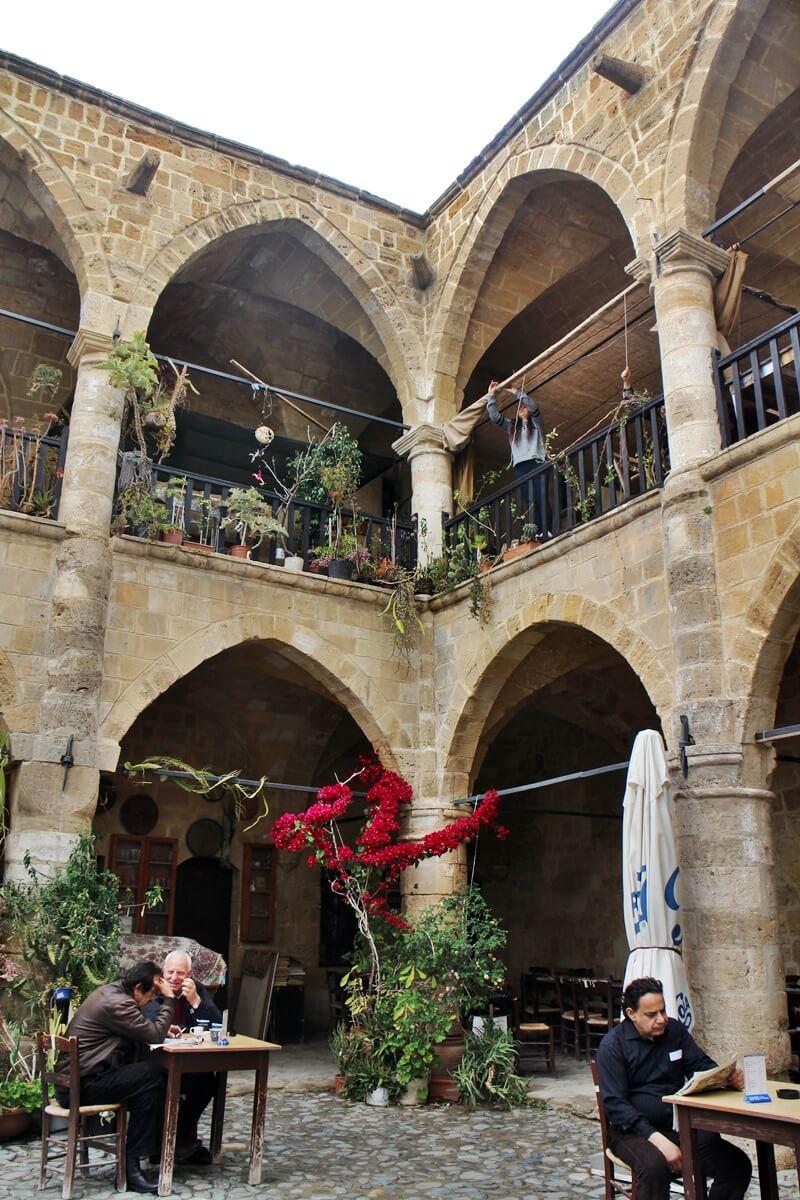 Nikosia Zypern besetzter Teil Reisebericht Reiseblog Genuss-mit-fernweh.de Büyük Han