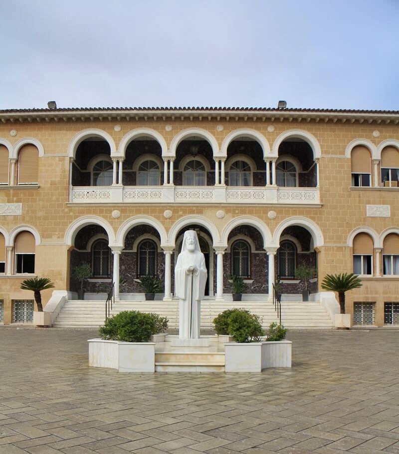 Palast des Erzbischofs Makarios Nikosia Zypern freier Teil Nikosia Hauptstadt Zypern Larnaka und Nikosia Reiseblog Genuss-mit-fernweh.de