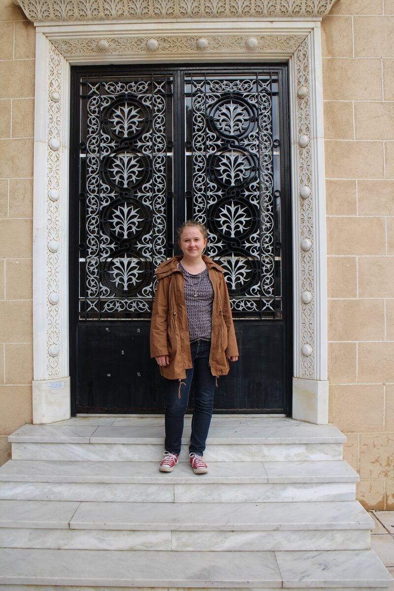 Palast des Erzbischofs Makarios Daniela Reher freier Teil Nikosia Hauptstadt Zypern Larnaka und Nikosia Reiseblog Genuss-mit-fernweh.de