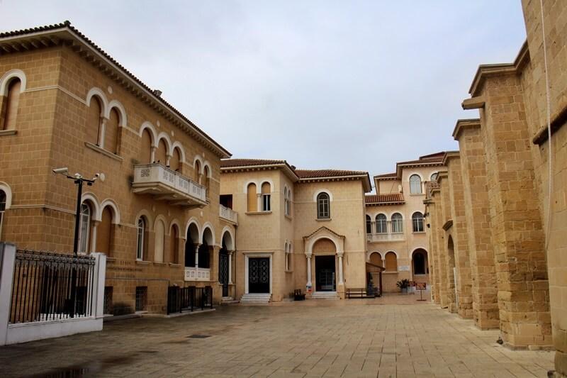 Palast des Erzbischofs Makarios freier Teil Nikosia Hauptstadt Zypern Larnaka und Nikosia Reiseblog Genuss-mit-fernweh.de