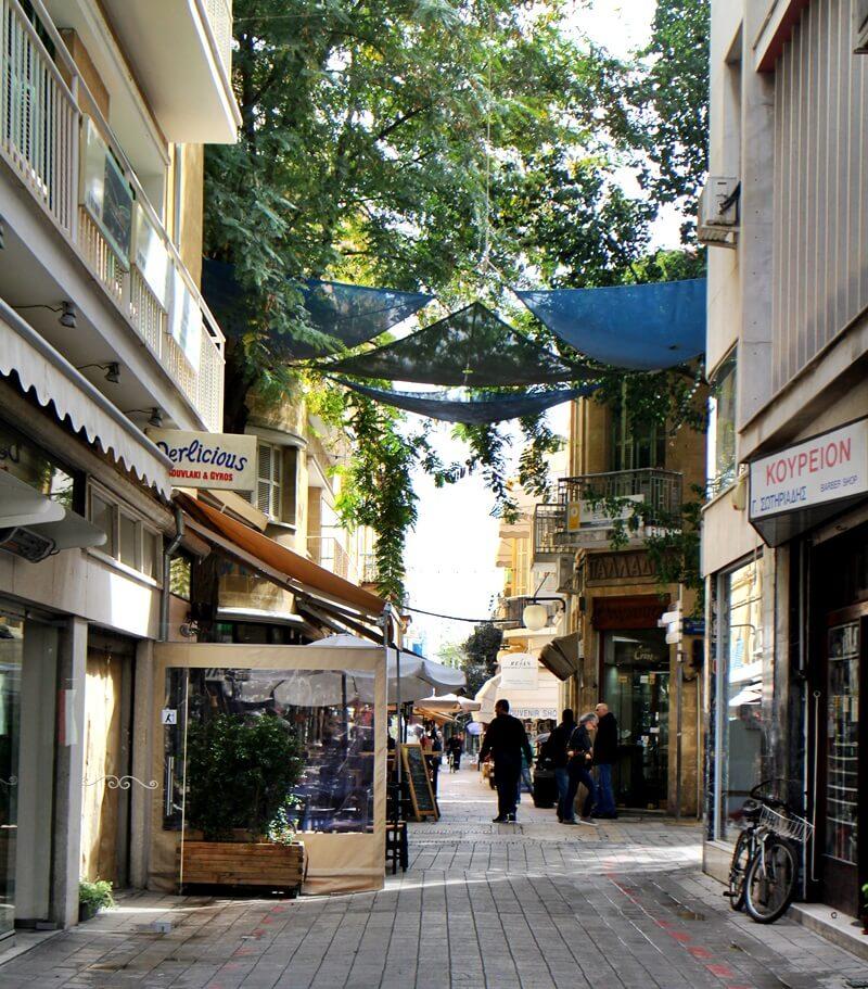 Gemütlich typisch zypriotisch freier Teil Nikosia Hauptstadt Zypern Larnaka und Nikosia Reiseblog Genuss-mit-fernweh.de