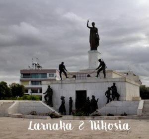 Nikosia und Larnaka - Denkmal freier Teil Zyperns Reisebericht Genuss-mit-fernweh.de