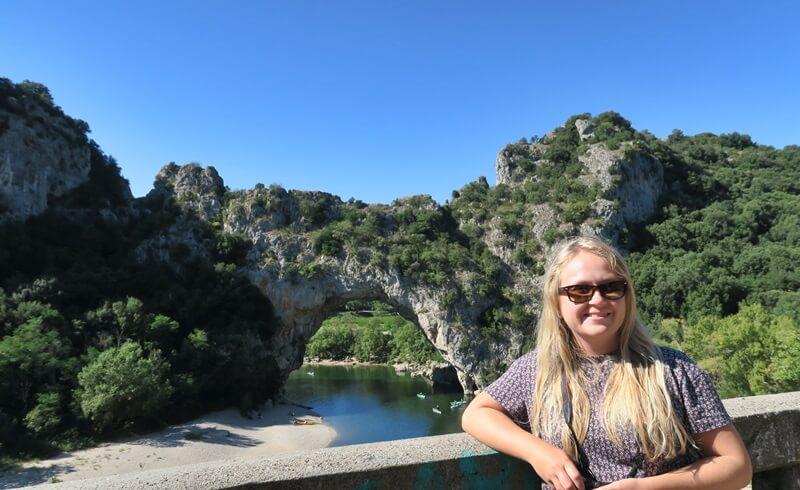 Ardèche Ardeche Reisebericht Reiseblog Genuss-mit-fernweh.de Pont d'Ard Daniela Reh Provence