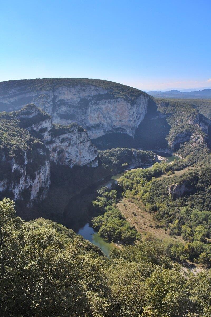 Ardèche Ardeche Reisebericht Reiseblog Genuss-mit-fernweh.de Pont d'Ard Daniela Reh Provence Gorges de l'Ardèche