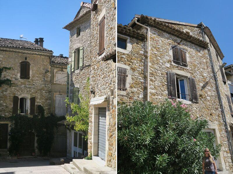 Chauvet-Höhle Vallon-Pont-d'Arc Reisebericht Reiseblog Genuss-mit-fernweh.de Altstadt Gebäude Provence provencalischer Stil