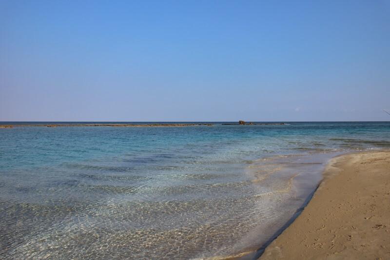 Famagusta Nordzypern Zypern Genuss-mit-fernweh.de Reiseblog Wasser vor Varosia Geisterstadt