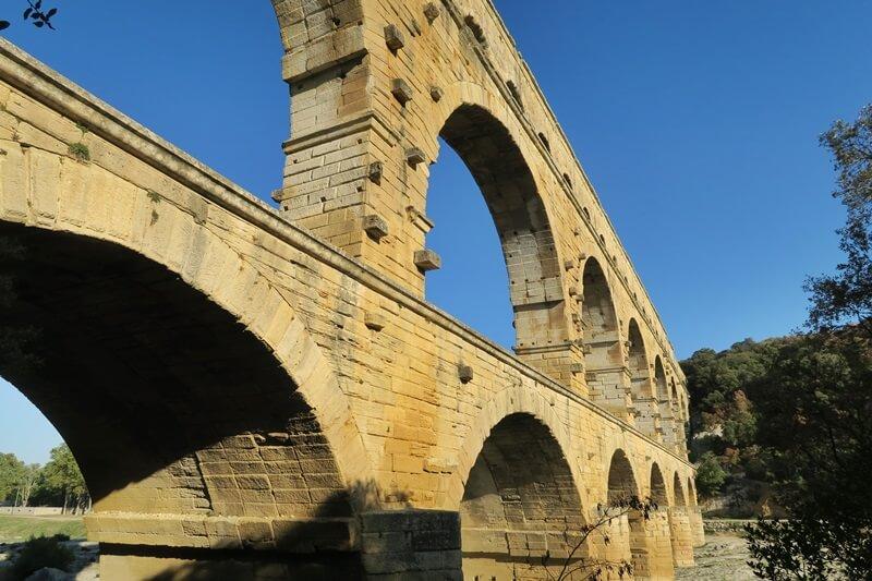 Pont Du Gard Provence Frankreich Monument Reisebericht Reiseblog Genuss-mit-fernweh.de Bauwerk