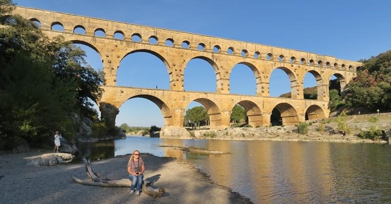 Pont Du Gard Provence Frankreich Monument Reisebericht Reiseblog Genuss-mit-fernweh.de Bauwerk Daniela Reh