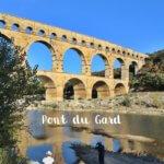 Pont Du Gard Provence Frankreich Monument Reisebericht Reiseblog Genuss-mit-fernweh.de Bauwerk Spiegelung im Wasser