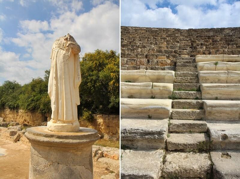 Salamis Ausgrabungen Zypern Nordzypern Reisebericht Reiseblog Genuss-mit-fernweh.de