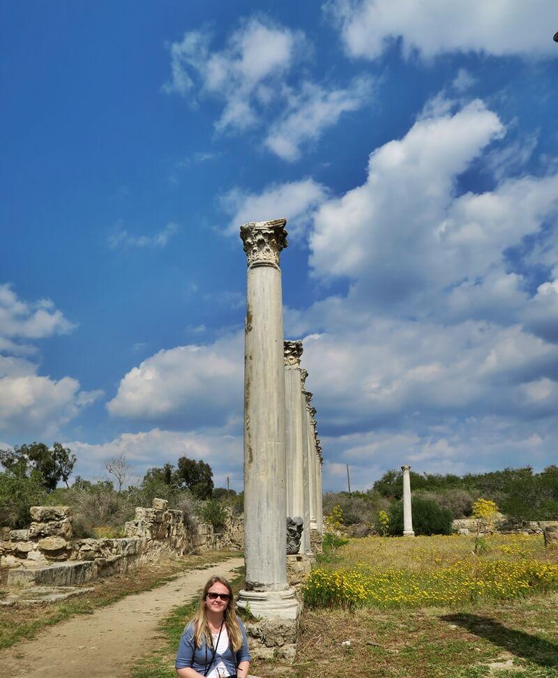 Salamis Ausgrabungen Zypern Nordzypern Reisebericht Reiseblog Genuss-mit-fernweh.de Daniela Reh