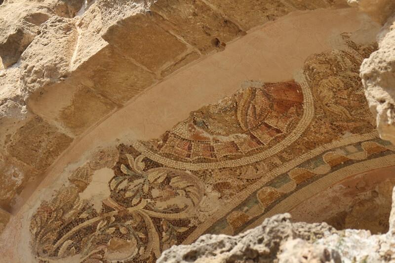 Salamis Ausgrabungen Zypern Nordzypern Reisebericht Reiseblog Genuss-mit-fernweh.de Mosaik