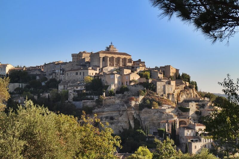 Gordes Nähe Abtei Sénanque Genuss-mit-fernweh.de Reiseblog Ausblick Provence