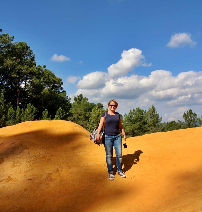 Roussillon Ockerstadt Ocre Provence Ockerpfad Genuss-mit-fernweh.de Reiseblog Daniela Reh