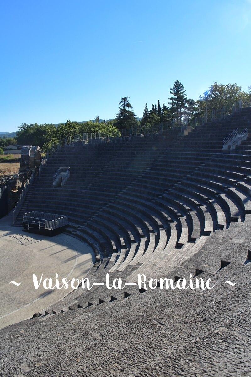 Vaison-la-Romaine Provence Reisebericht Reiseblog Urlaubstips Genuss-mit-fernweh.de