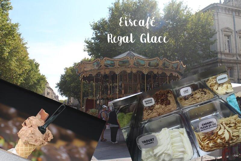 Avignon Cityguide Stadtführer Provence Reiseblog Genuss-mit-fernweh.de Eiscafé Regal Glace
