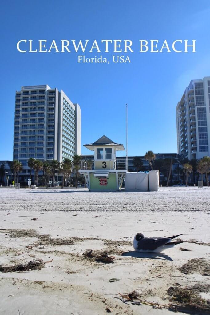 Clearwater Beach Florida USA Sunshine State Ausflugstip schönster Strand Floridas Strandhaus Baywatch