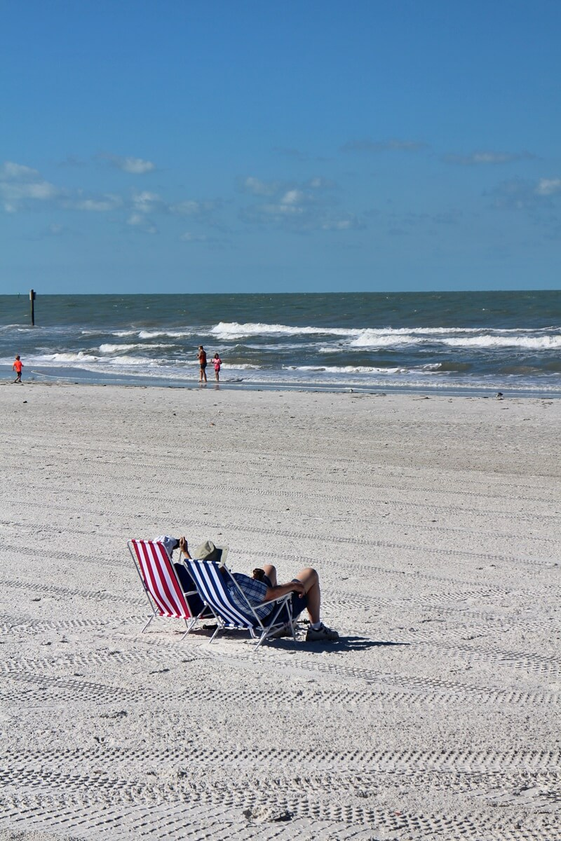 Clearwater Beach Florida USA Sunshine State Ausflugstip schönster Strand Floridas Rentner in Florida so will ich leben