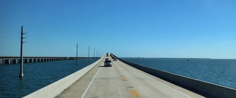Florida Keys U.S. Highway 1 von Miami bis nach Key West Reisebericht Genuss-mit-fernweh.de Seven Mile Bridge