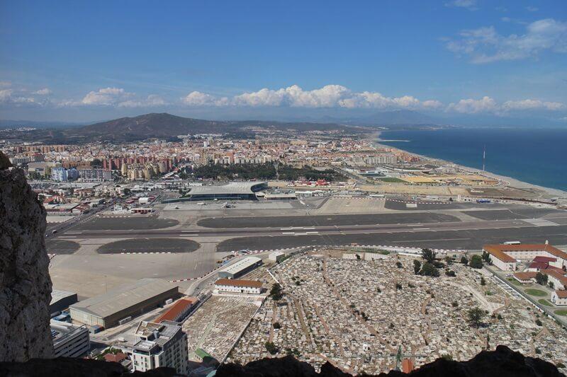 Gibraltar Genuss-mit-fernweh.de Reisebericht Städtetrip Gibraltar von oben
