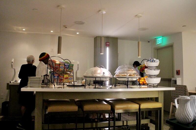 Hilton Garden Inn Miami South Beach Frühstücksbuffet